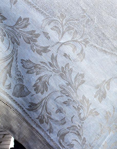 Tafelkleed blauw the hague collections interieur winkel den haag oval blauw 01