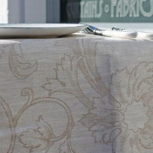 Tafelkleed linnen the hague collections interieur winkel den haag charlotte beige 01