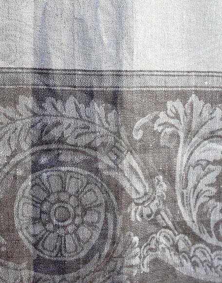 Tafelkleed linnen the hague collections interieur winkel den haag cleopatra grijs 02