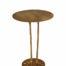 Gouden side table met poten interieurwinkel Den Haag Frederik Premier