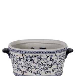 Plantenbak medium porcelein interieurwinkel Den Haag Frederik Premier lampenkappen