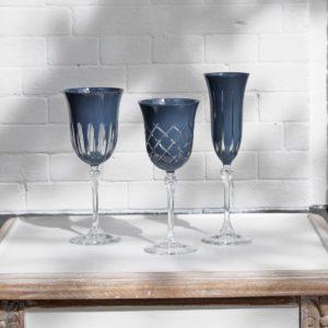 Blanc dIvoir set glazen blauw interieurwinkel Den Haag 2604201909