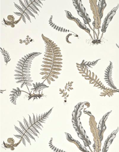 Ferns Dove Grey Silver frederik premier interieurwinkel Den Haag