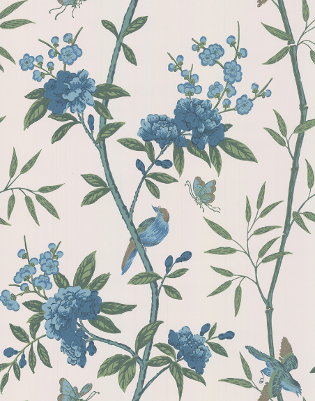 Peony & Blossom indigo teal frederik premier interieurwinkel Den Haag