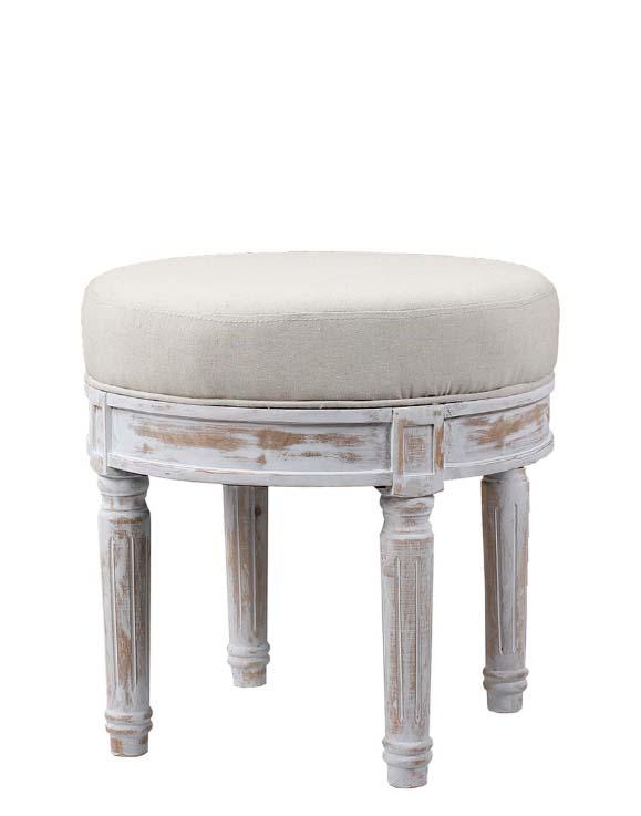 Blanc divoire klassieke krukje interieurwinkel den haag gordijnen en meubels frederik premier 0911201902