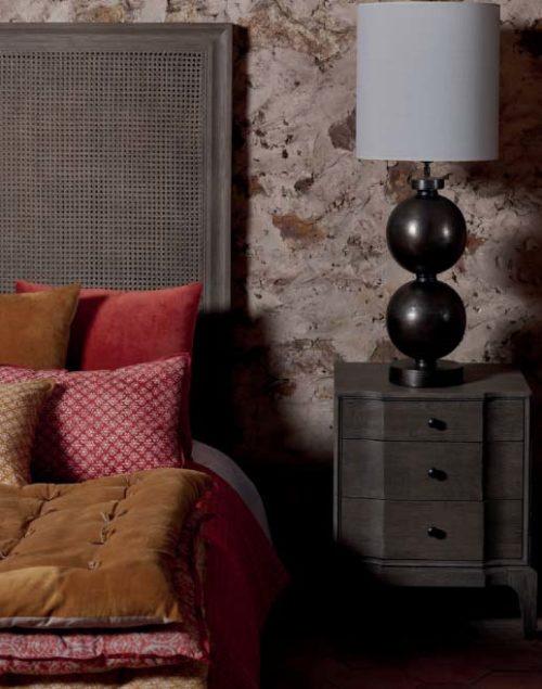 Blanc divoire webbing hoofdbord headboard interieurwinkel den haag gordijnen en meubels frederik premier 0911201906