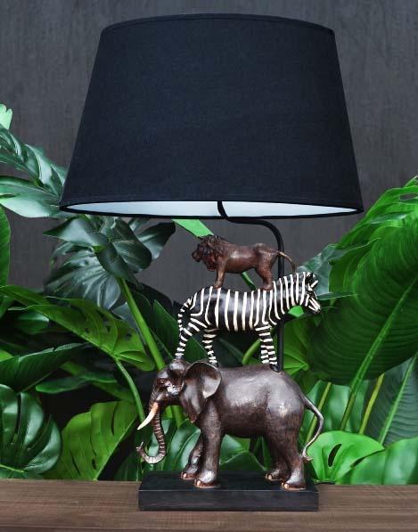 Lampenvoet safari show Frederik Premier 04122019