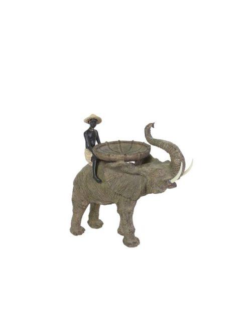 Man op olifant met schaal Frederik Premier 26112019