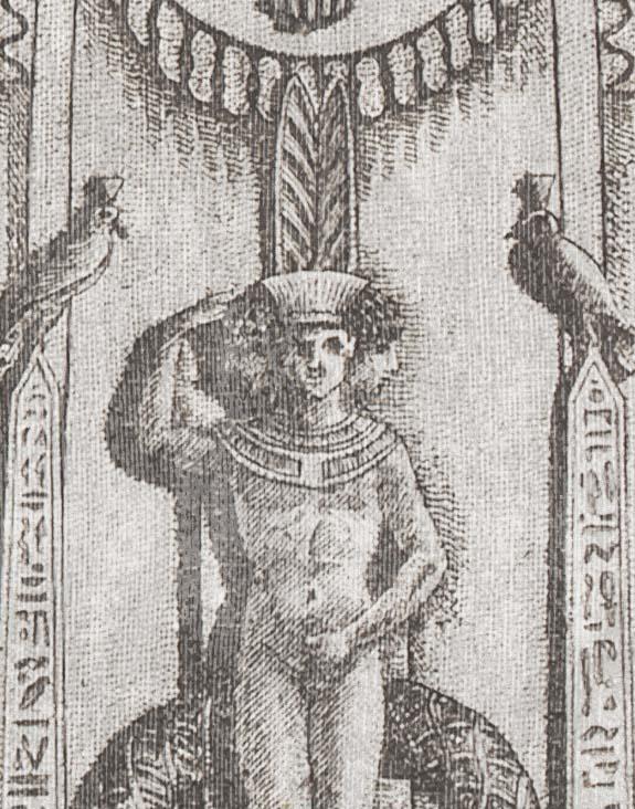 Mind the Gap II - Behang EGYPTIAN COLUMNS Frederik Premier 11122019